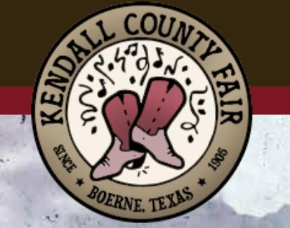 Kendall County Fair - Boerne, TX -