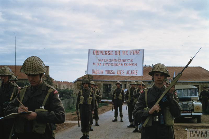 British Forces in Cyprus, 1960-1974 © IWM (CT 13)