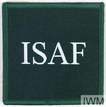 Badge Formation, International Security Assistance Force Afghanistan, 1st Pattern   © IWM (INS 7836).