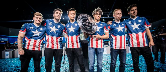 Team Liquid at the  Intel Extreme Masters  Chicago 2019