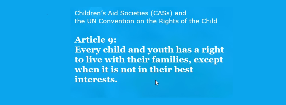 UN & Children's Aid Societies