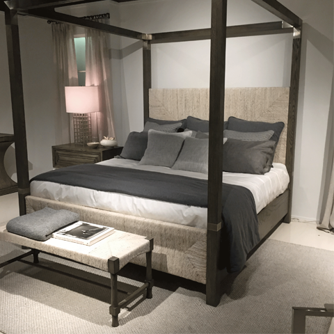 Bed by the Robert James Collection