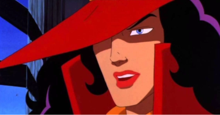 we found carmen sandiego, she was just in the bathroom for a really long time - BunnyEars.com