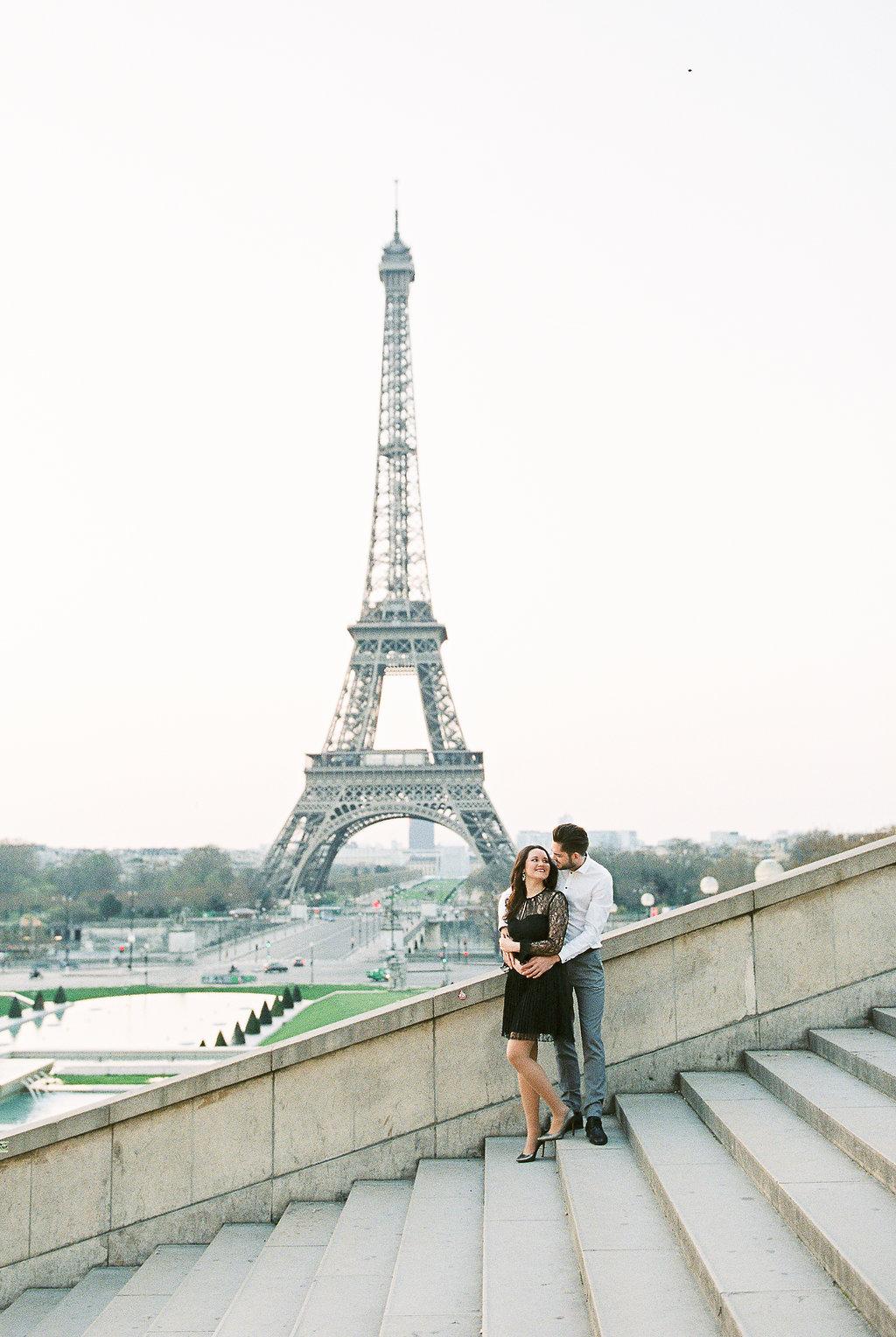Germany fine art film wedding photographer | Kibogo Photography | Paris engagement session2.JPG