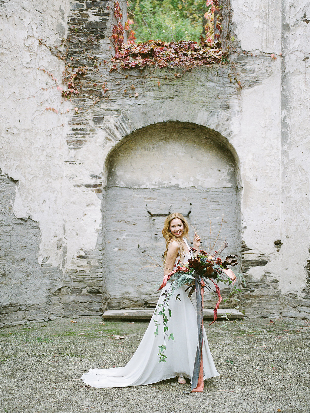 Destination fine art film wedding photographer Tanja Kibogo | autumnal bridal session40.JPG