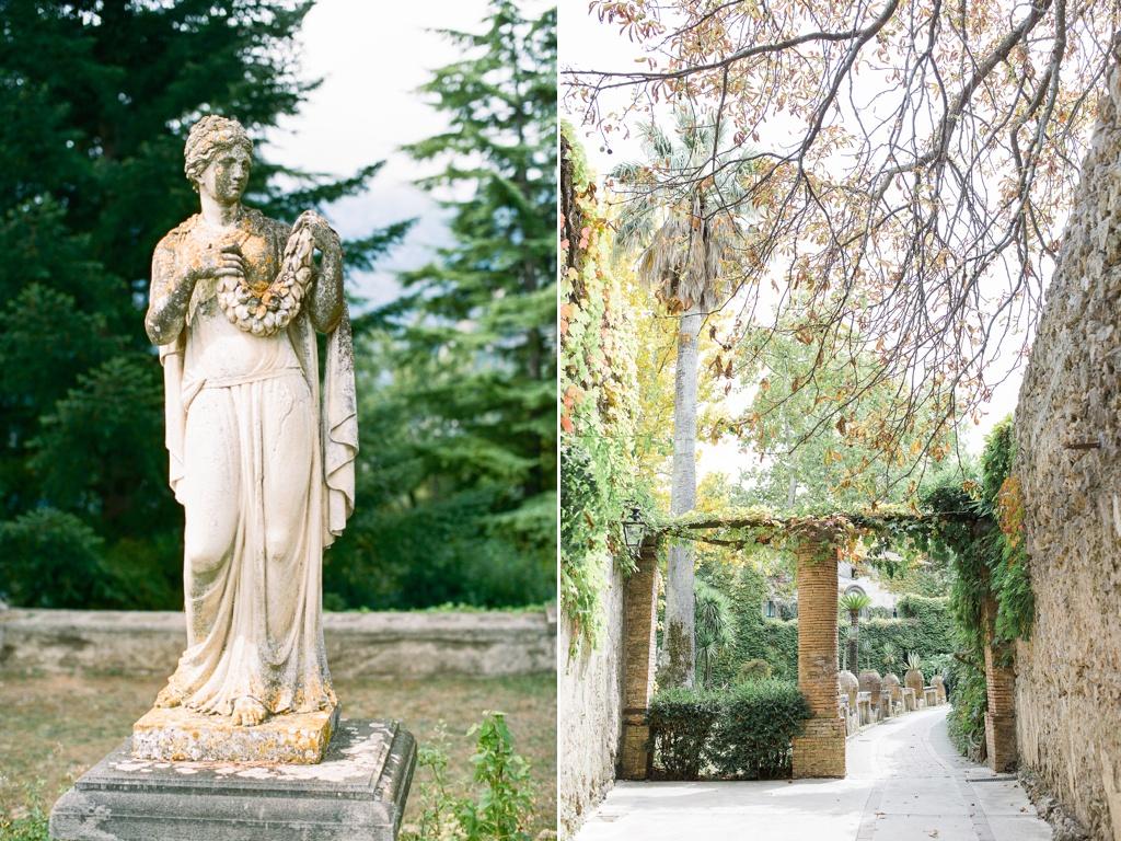 Villa Cimbrone Wedding Venue | Tanja Kibogo