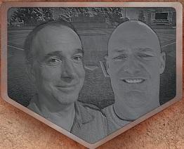 Mike Thompson and Brett McKown »