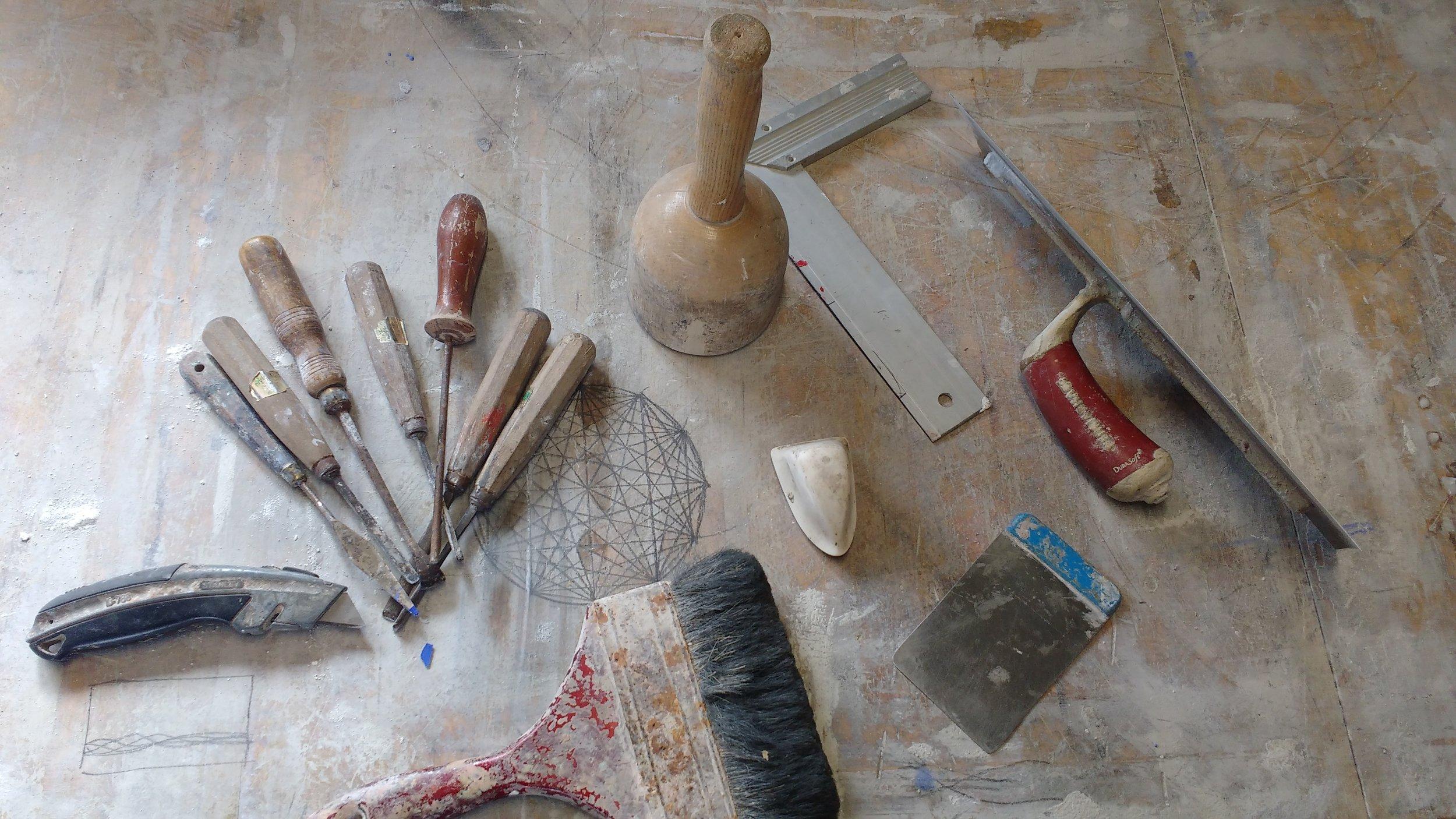 Joe Morris Studio – tools and sketches