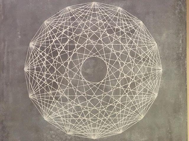 'We still see it in our dreams' #tadelakt #abstractart #sacredgeometry #geometry #art #minimal #tadelaktart #newwork