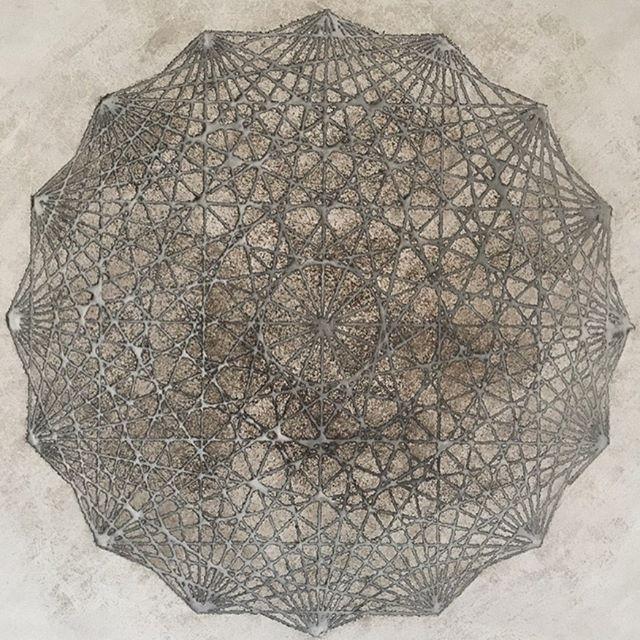 Recent piece for a commission #tadelakt #tadelaktart #art #artist #geometry #sacredgeometry #geometricart