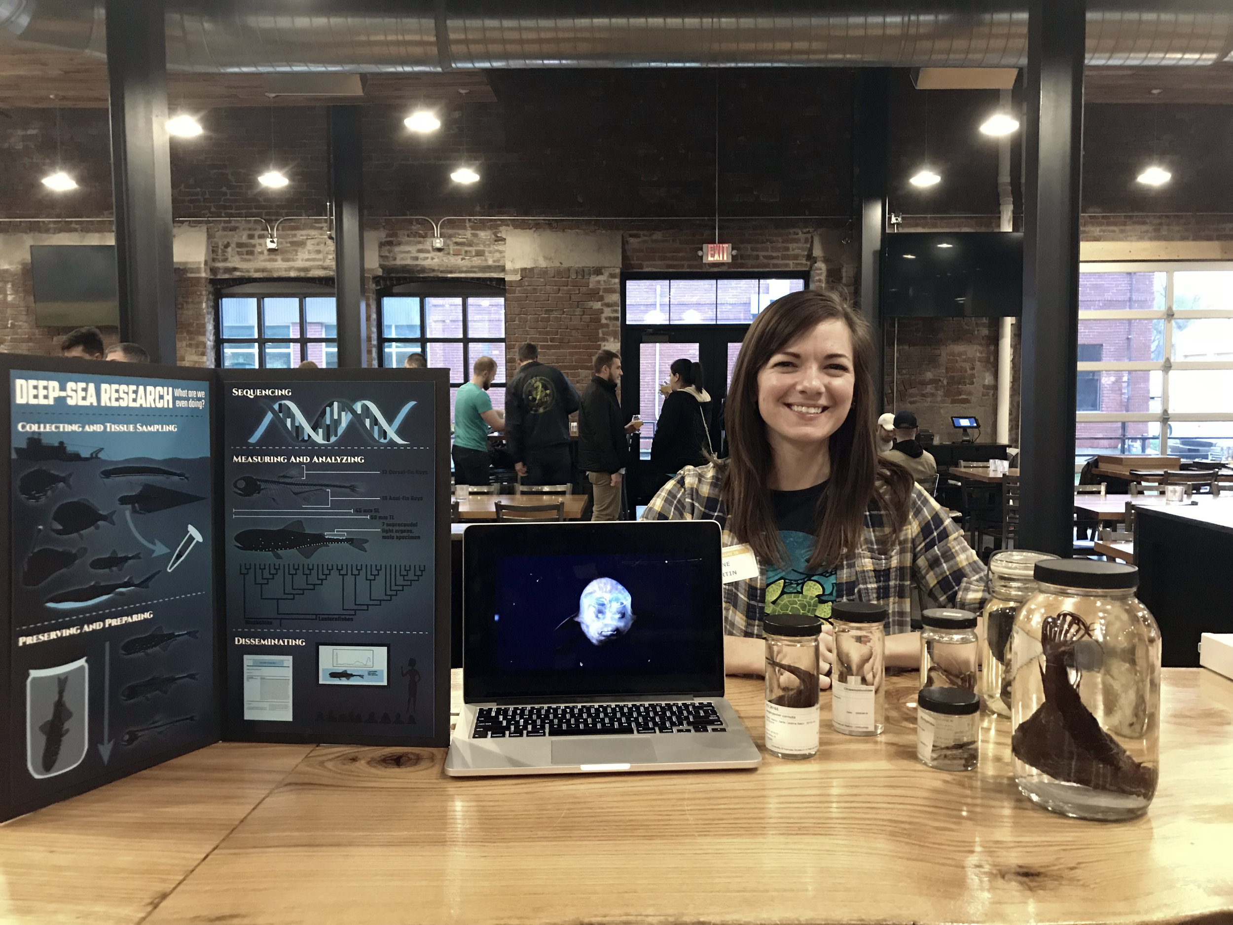 Deep-sea Diversity: Science Night at the Lawrence Beer Company, March 2018