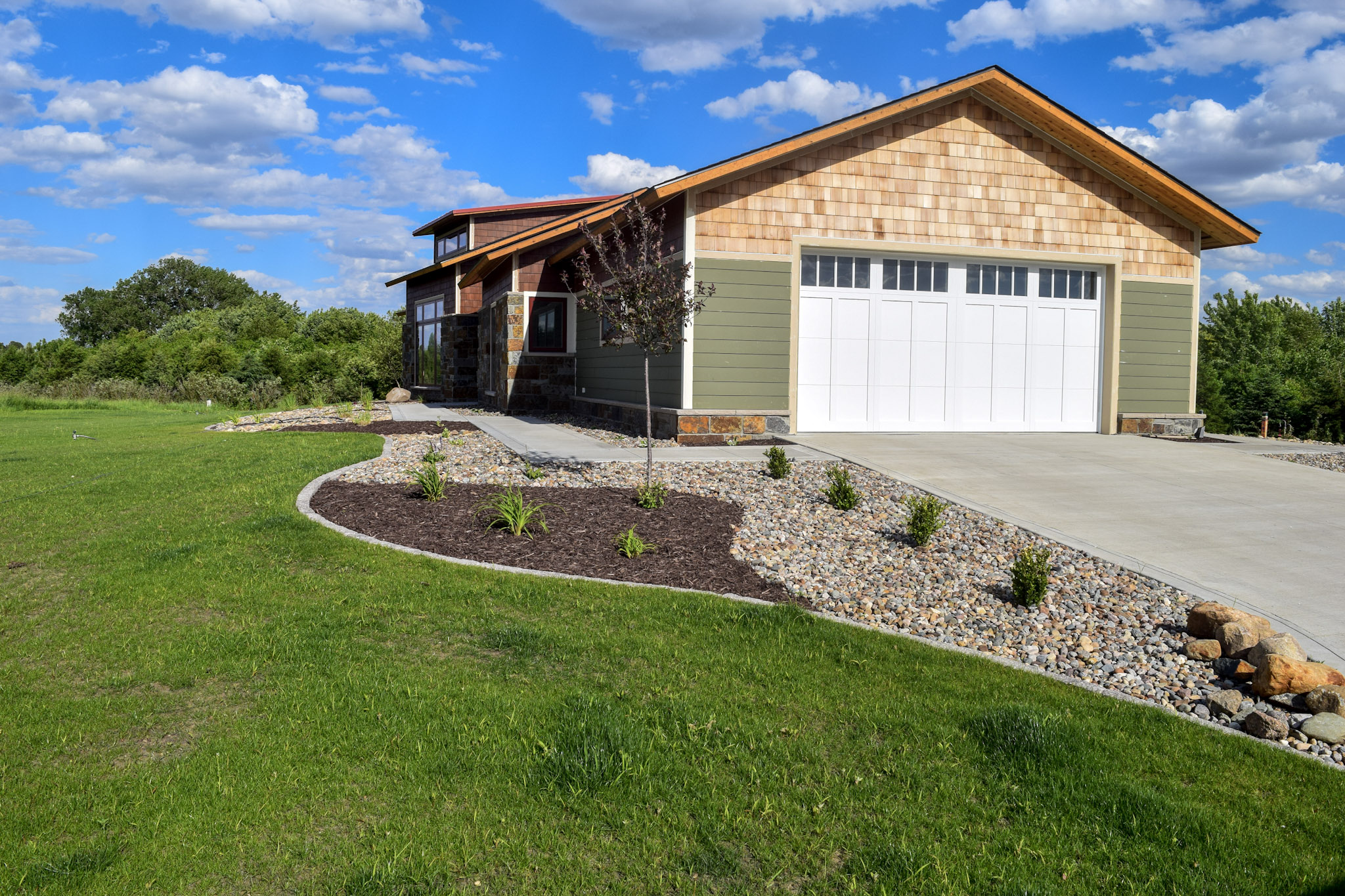 NEW HOME LANDSCAPING -