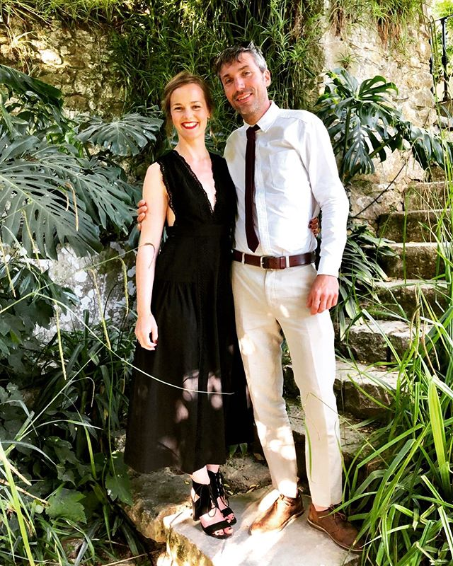 A very rare pic of me and the handsome man having a wonderful time as a guest at a wedding! Thank you Tash and Vish for spoiling us rotten in Sintra and sharing ALL the love. Weeks later and I am still feeling it ❤️❤️❤️ (Thanks @antoniaobrien for the 📸) . . . #weddingphotographer #weddingphotography #offduty #weddingguest #destinationwedding #love #friendship #couple #bridesmaid #bridesmaidinblack
