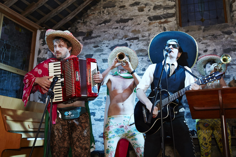 Comedy wedding band