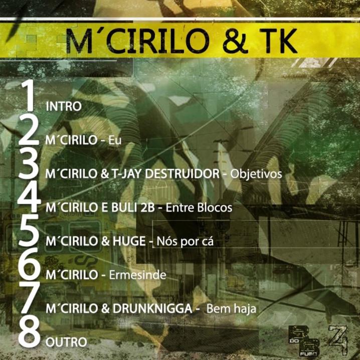 M'Cirilo & TK - M'Cirilo & TK Ep