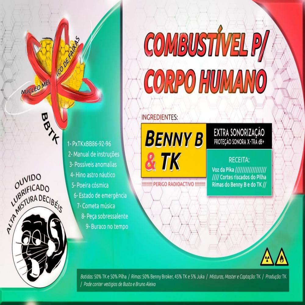 Benny Booker x Tk - Combustível P/ Corpo Humano