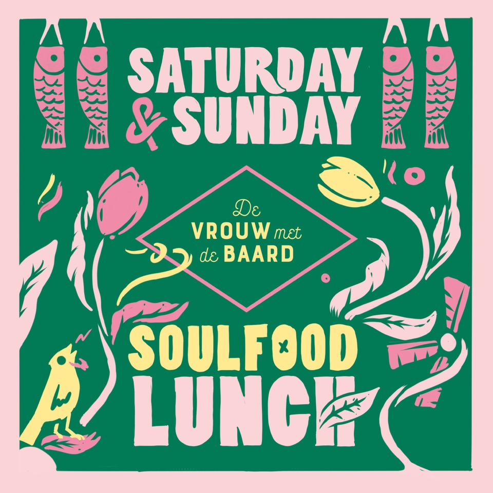 Weekend Lunch - Different menu, different setting, every Saturday and Sunday from 12 till 4pm.Check our Instagram and Facebook pages for special events as workshops, music etc.