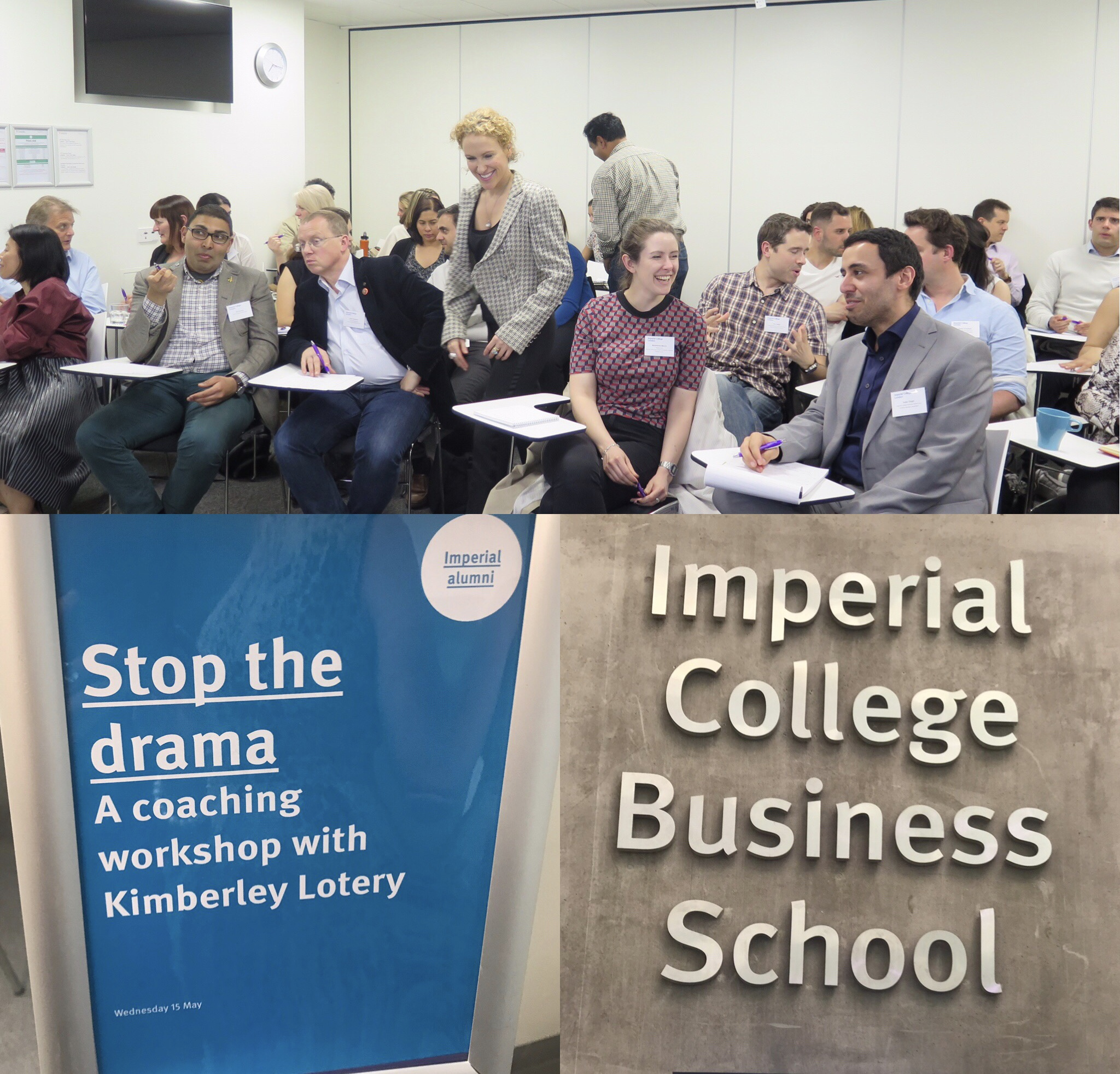 Coaching Workshop at Imperial College Business School