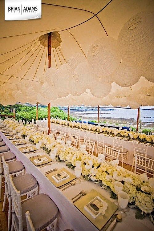 Malloy Weddings | New England wedding planner | Maine coast tented wedding