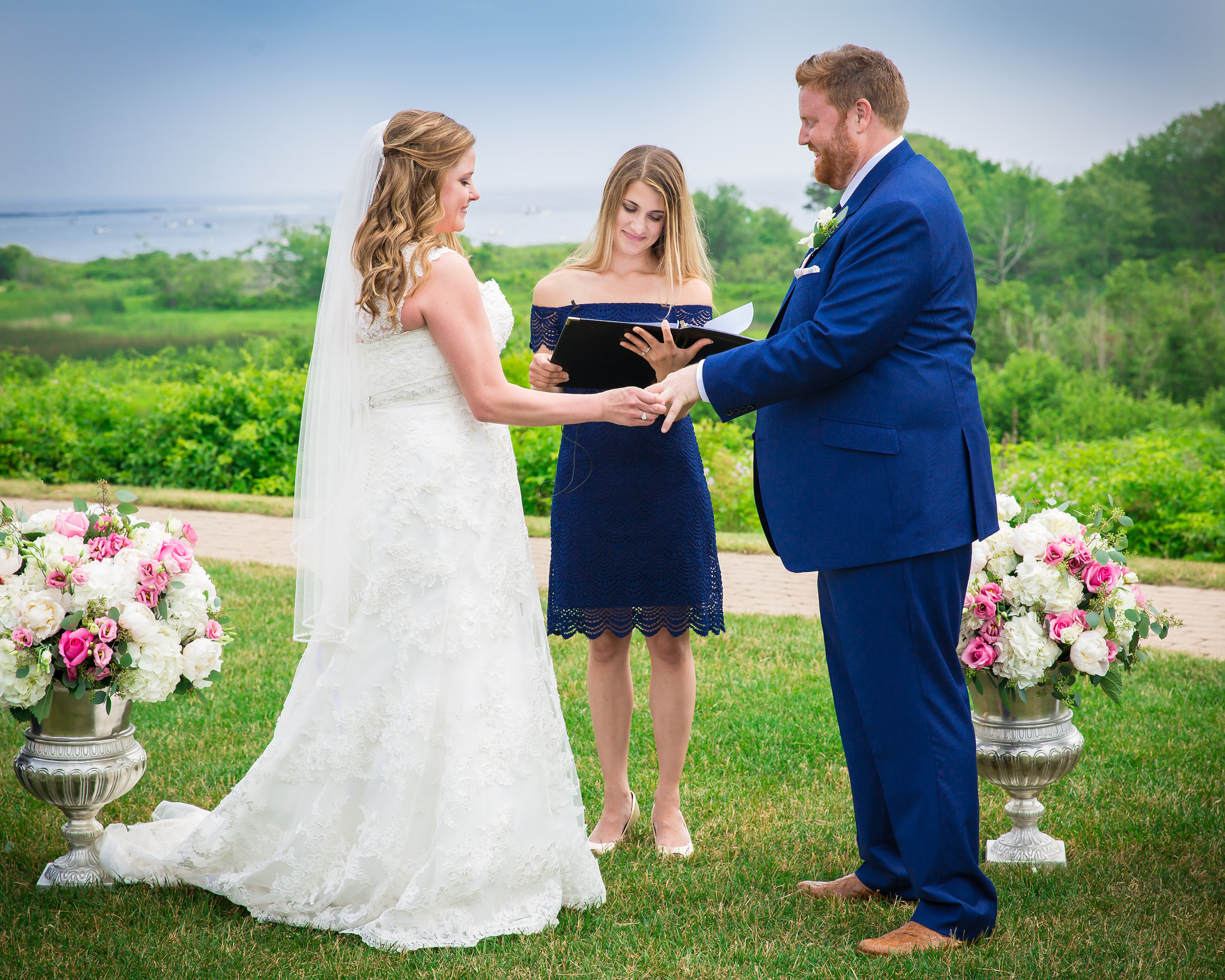 Malloy Weddings | wedding flowers | Maine wedding florist | Inn by the Sea | Cape Elizabeth Maine