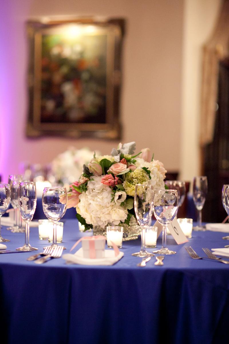 Classic navy blue wedding II