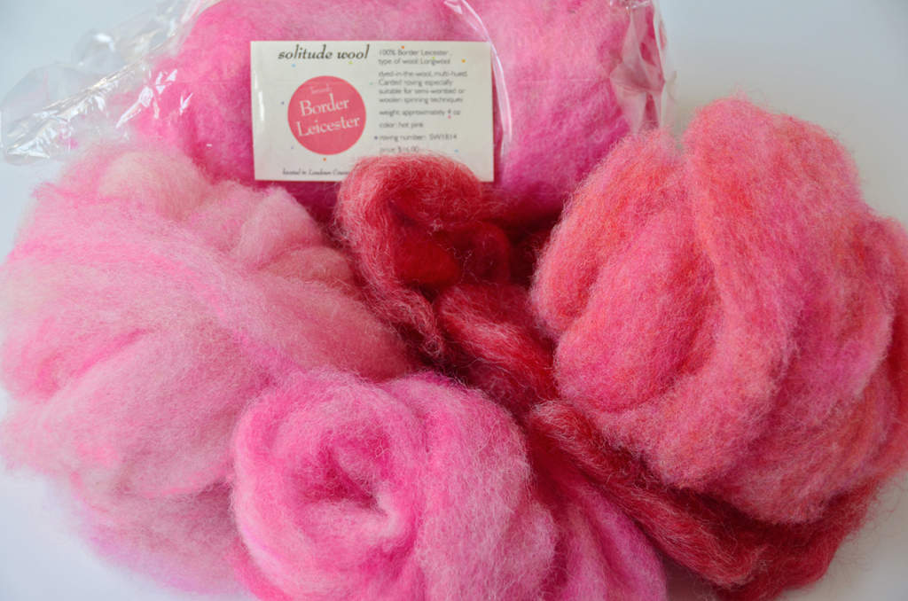 Solitude Wool Roving
