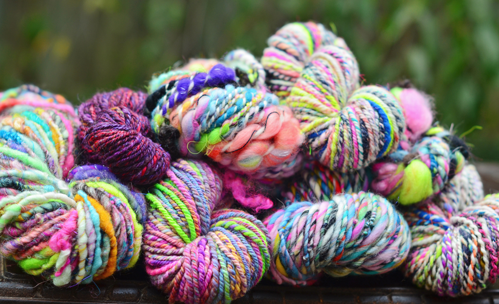 My Spinzilla 2014 Yarn