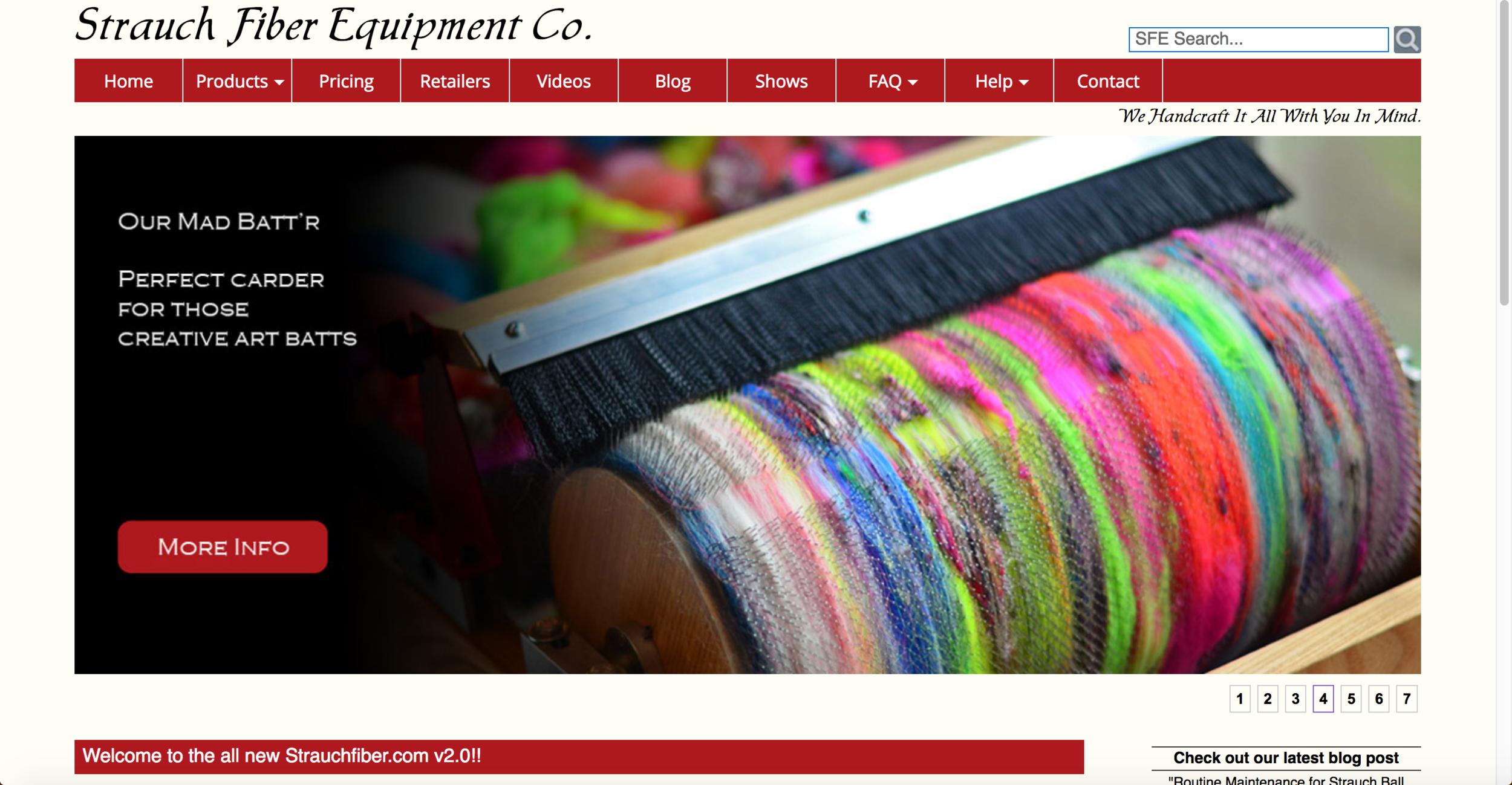 strauch fiber website