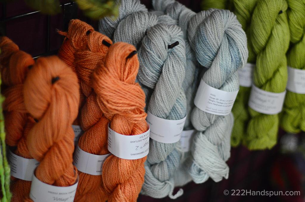 Vintage No. 2 yarn MDSW 2017