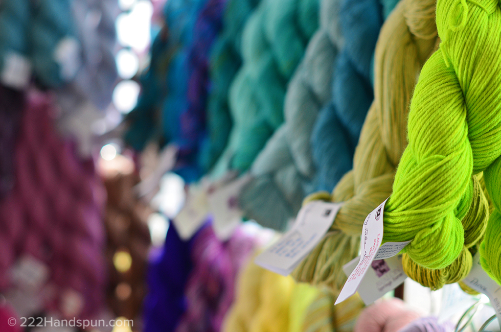 Avalon Springs hand dyed yarn MDSW 2017