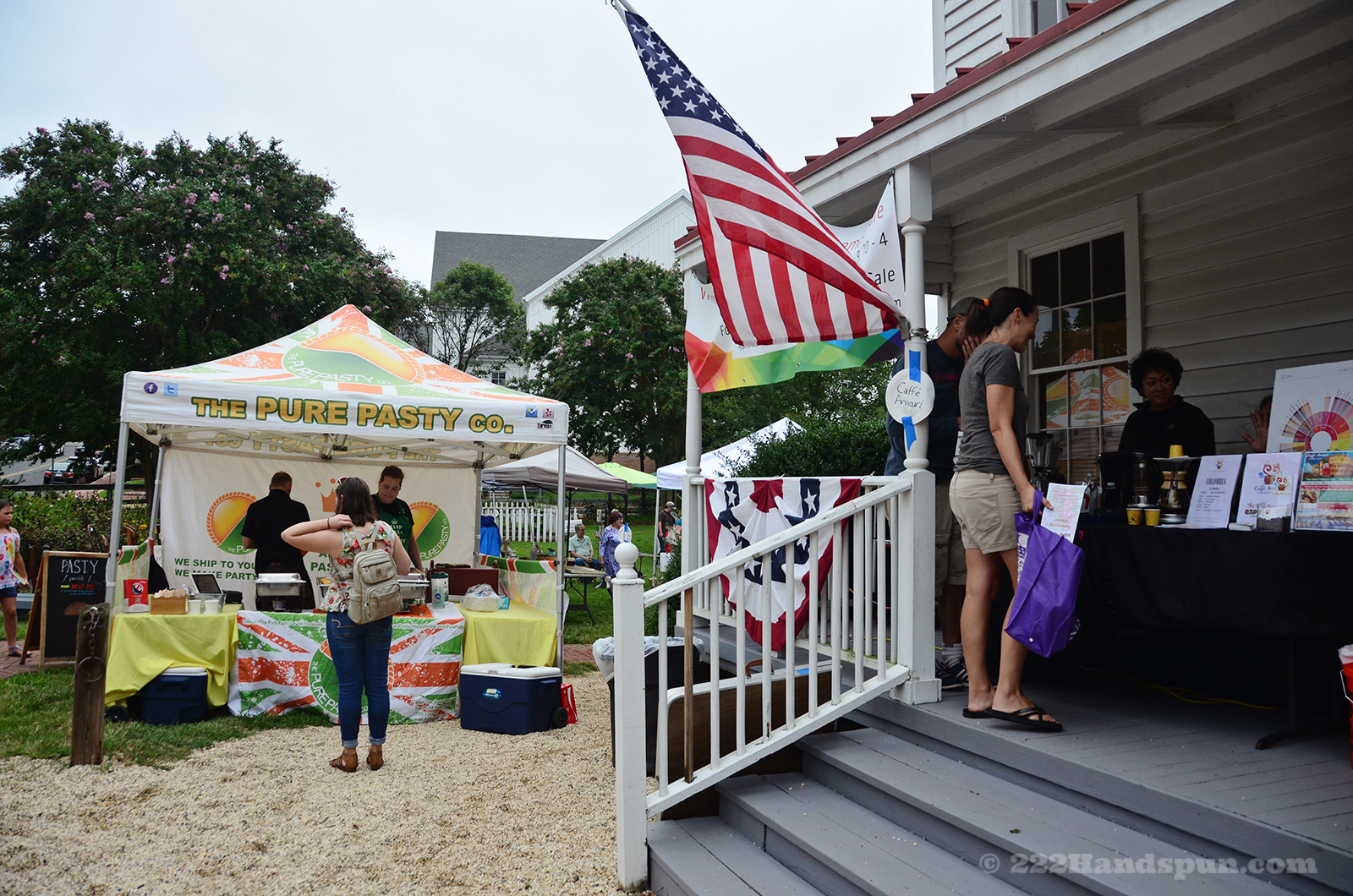 Vendors at the Market