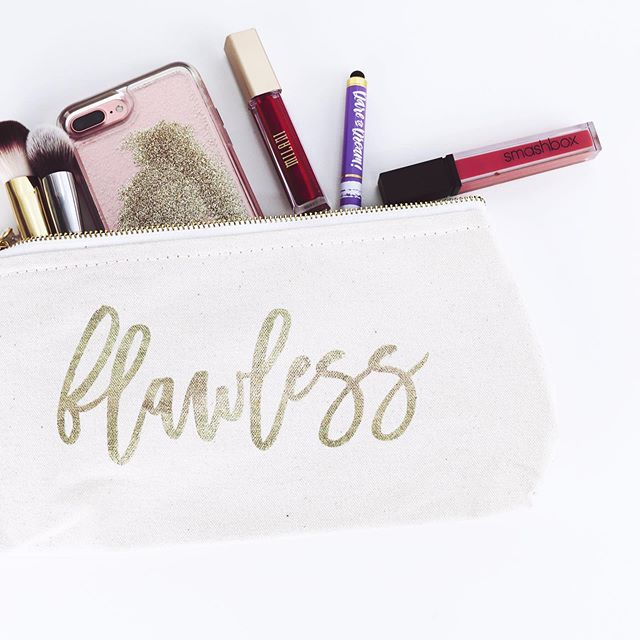 We don't need to be flawless, but a little color can brighten up a Monday.  #glammakeup