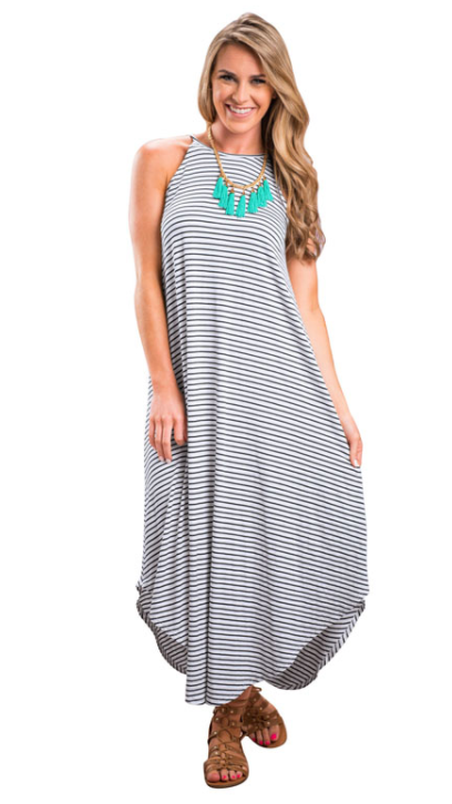 Striped Loose Maxi Dress.png