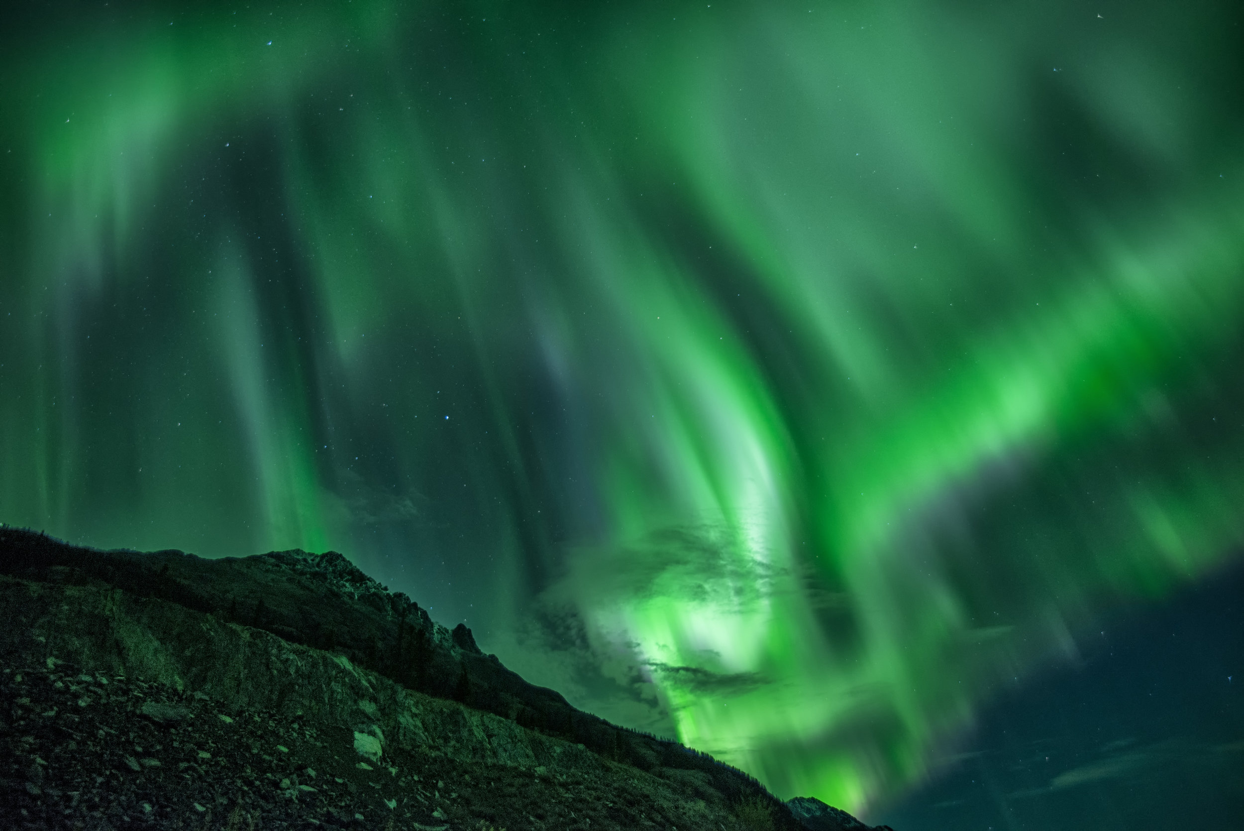 Yukon northern lights photography workshop