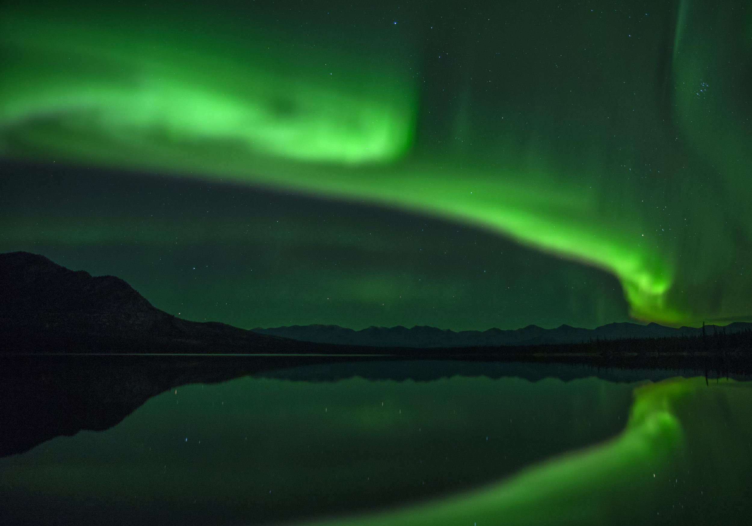 southern Yukon northern lights workshop