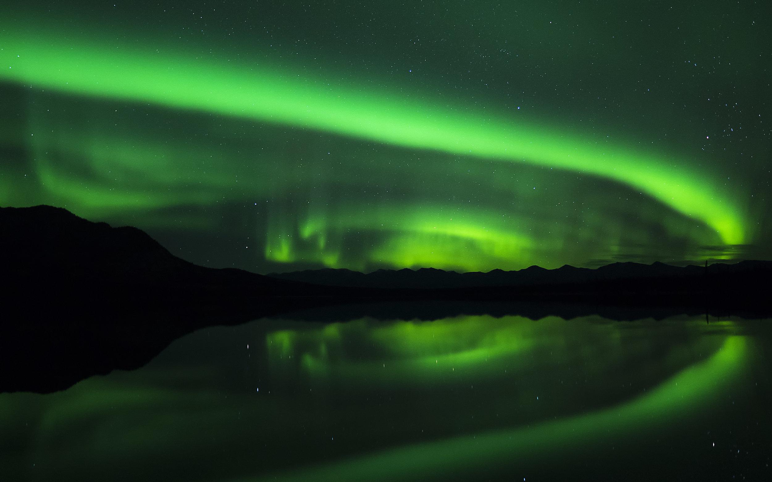 Curling Aurora over Kloo lake lumix .jpg