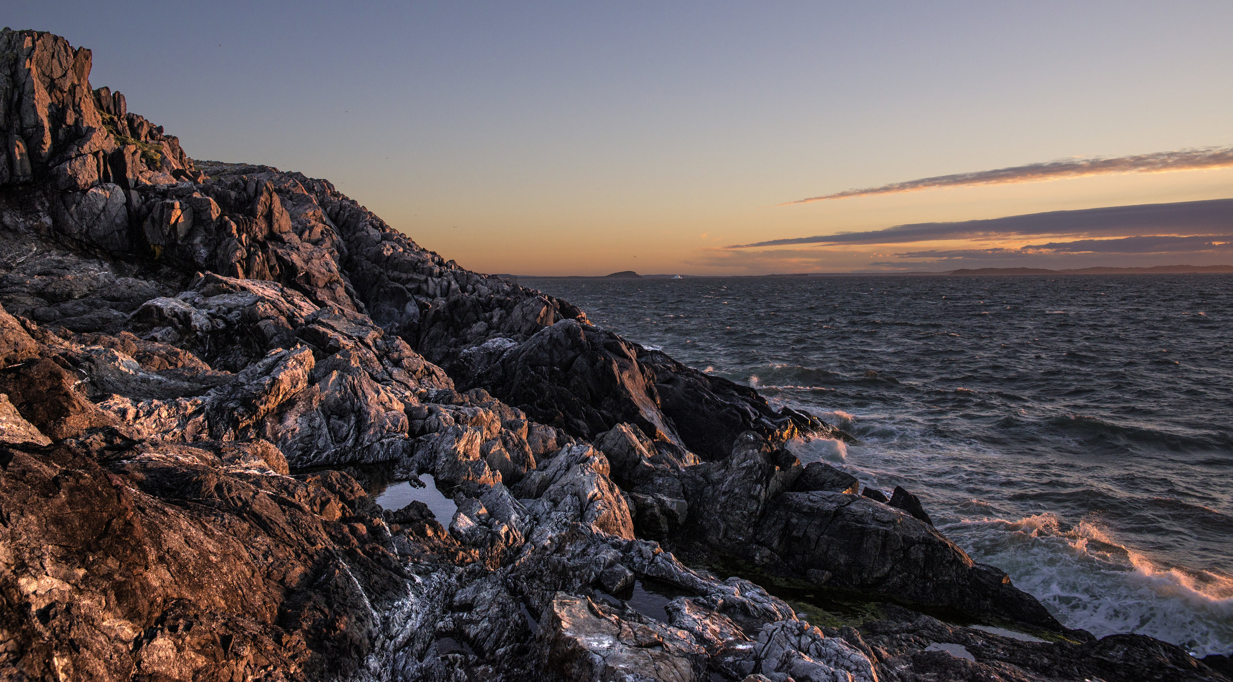 Quirpon Island Sunset - Chris Pepper