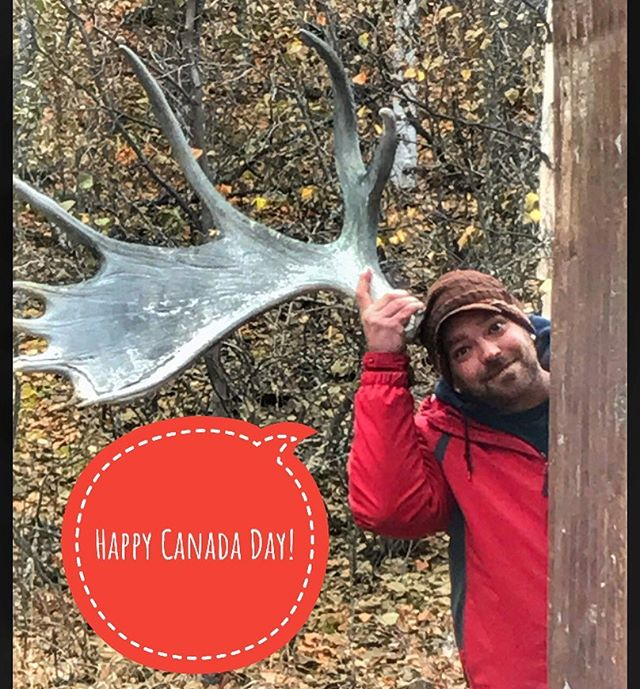 Happy Canada Day! 🇨🇦🇨🇦🇨🇦 We live in such a beautiful country, a massive playground for outdoor activities, cultural experiences and of course photographic opportunities 🤪 Everybody be safe today and enjoy the festivities 🤣🤙🇨🇦. #canadaday #ohcanada #dadlife #explorecanada #moose #yukon #crazycanadians