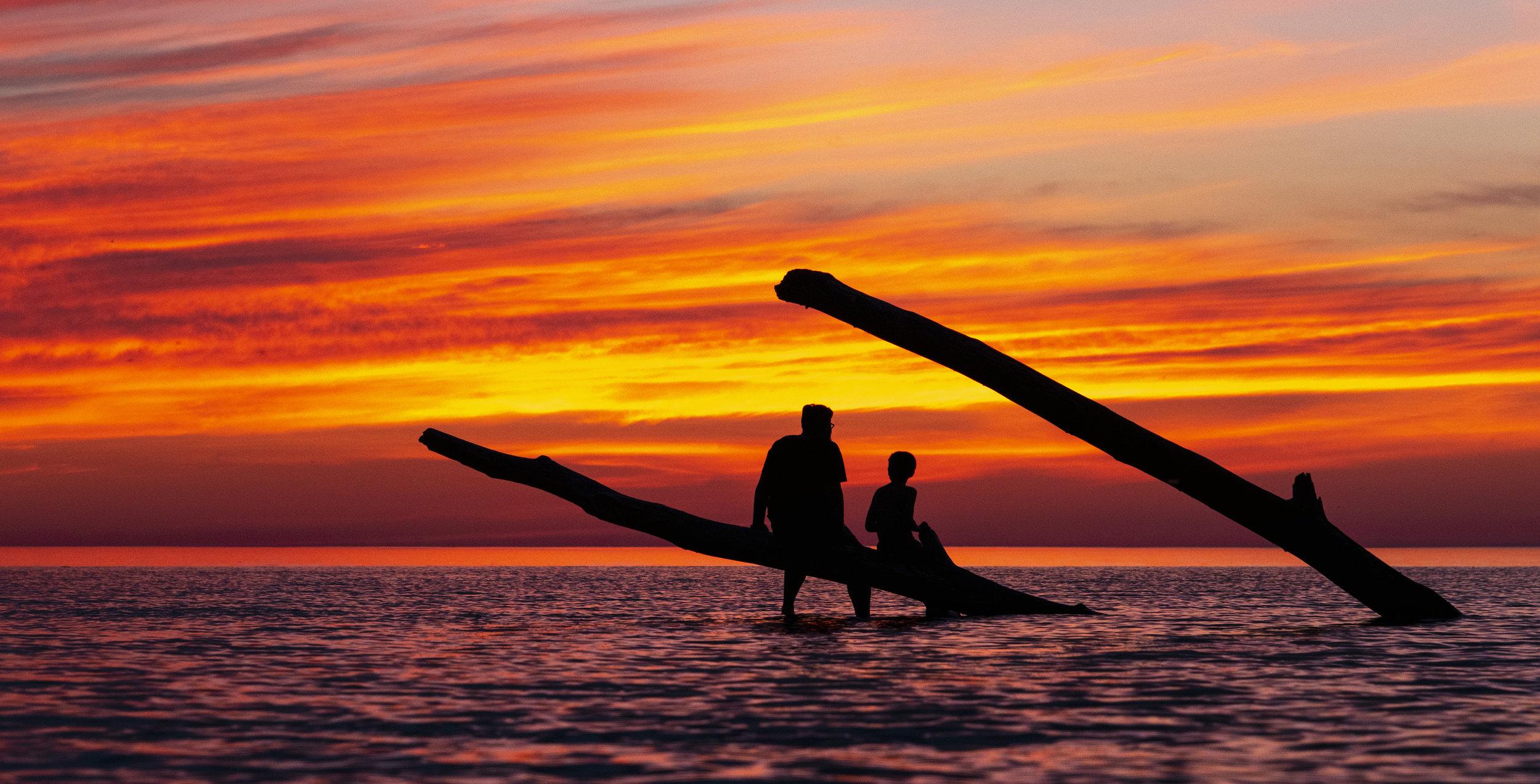Lumix S1R sunset Port Franks