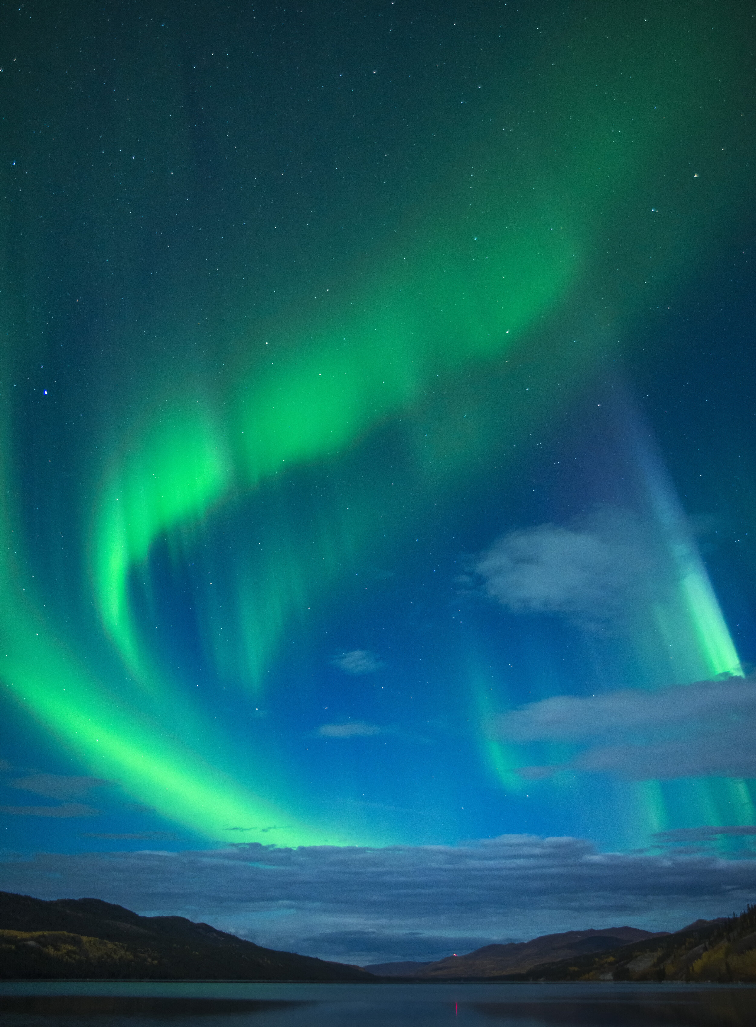 Northern Lights tours Yukon