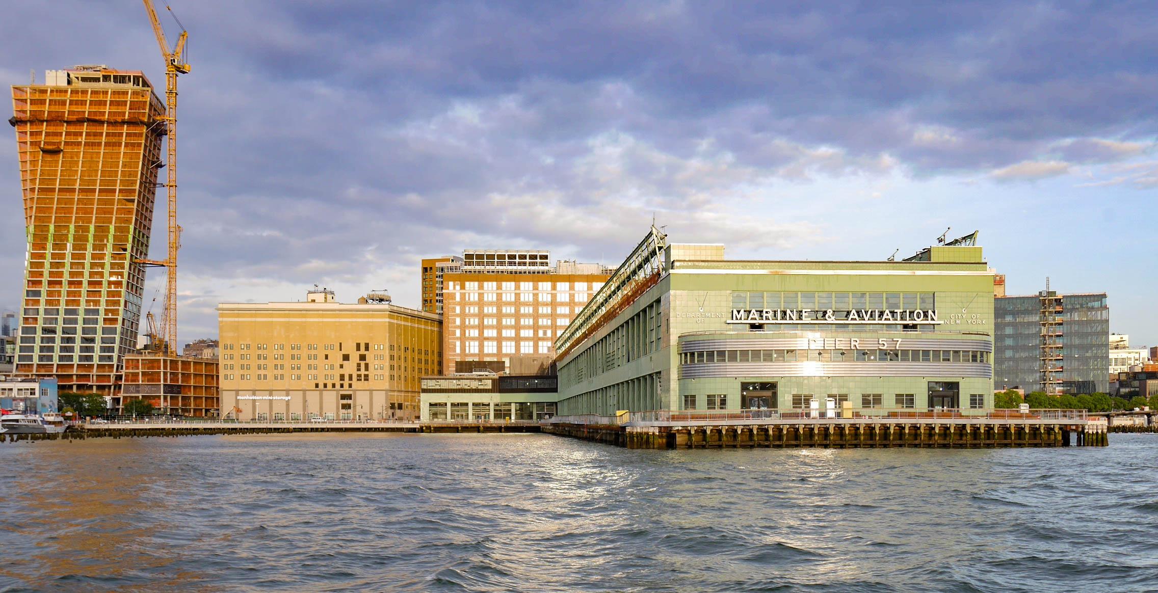 Marine & Aviation - Pier 57 - NYC