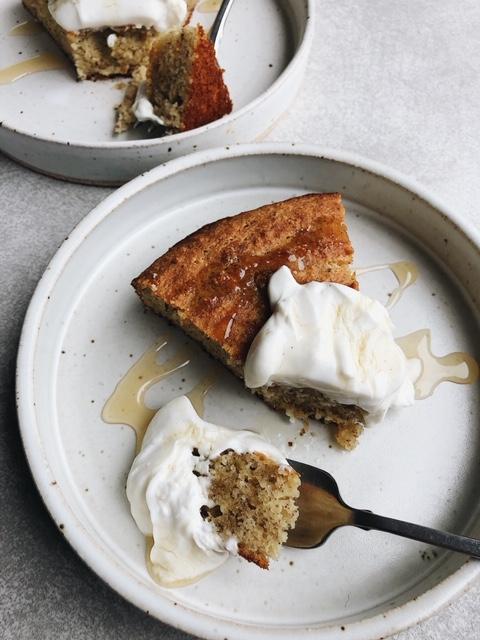 Grain Free Lemon Yogurt Breakfast Cake (gluten free).