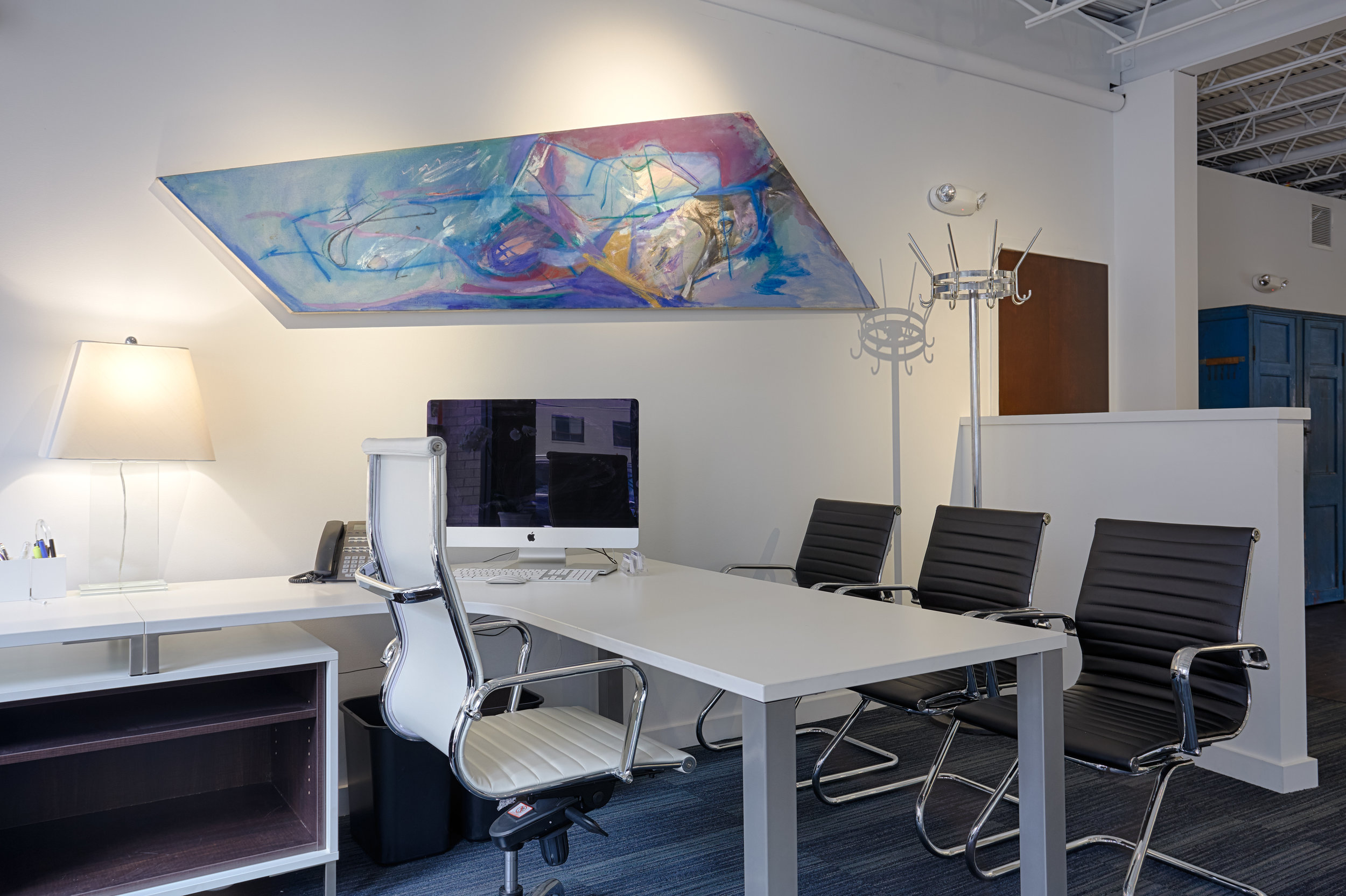 New Office Steve's Desk Headon.jpg