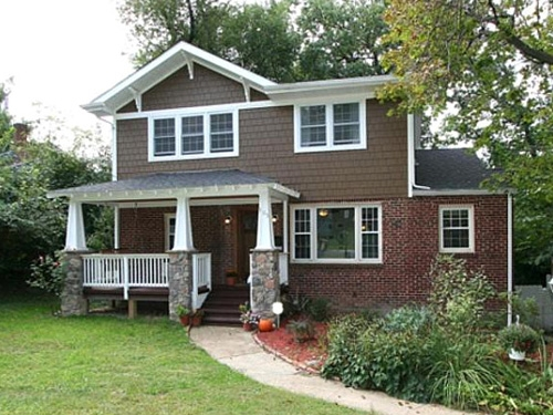 OWN REW Buyer's Edge Real Estate Company DC, MD, VA BuyersAgent.com Search for Homes in Takoma Park MD, DC brown home.jpg