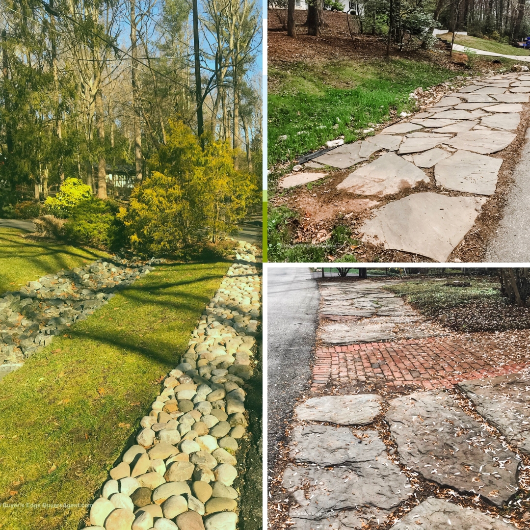 Do create safe, beautiful landscaping solutions with rounded and flat stones.