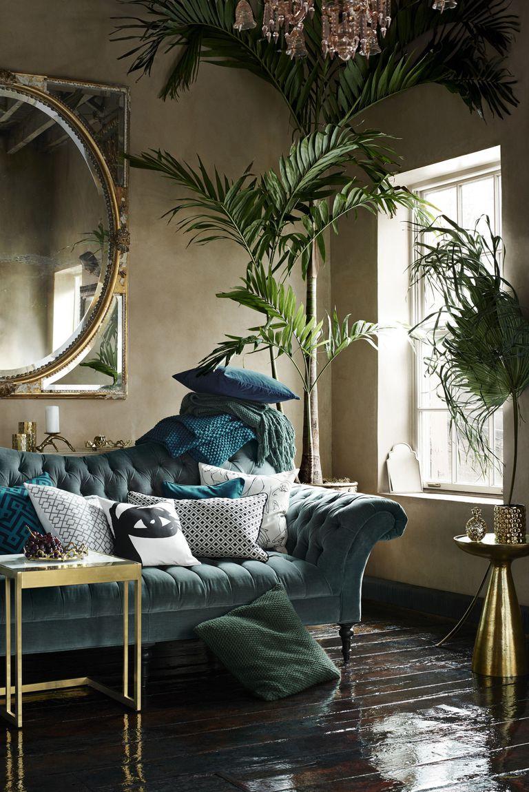 Via Elle Decor:The home of Evelina Kravaev Söderberg, head of design for H&M Home.