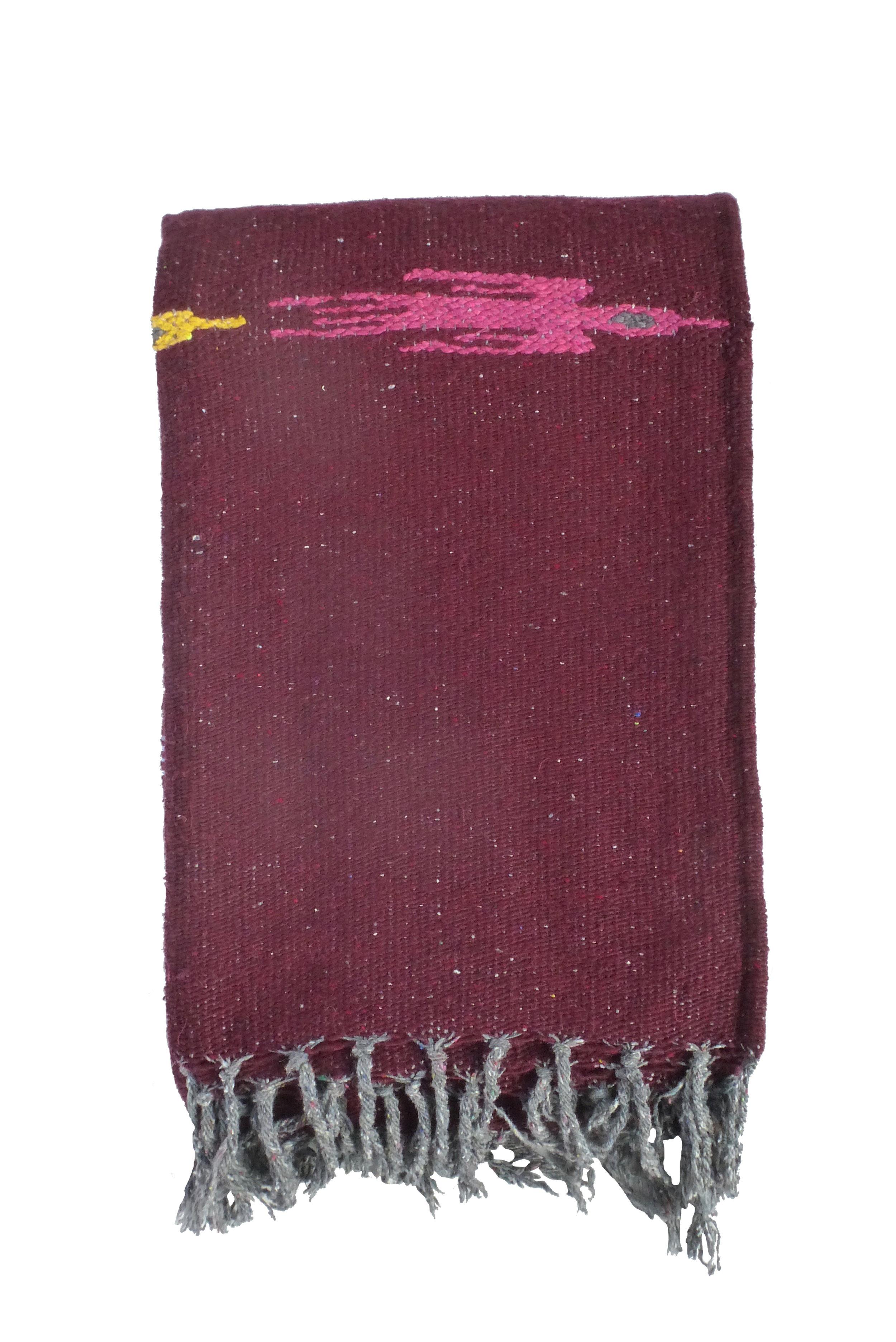 THUNDERBIRD BLAKET - BURGUNDY