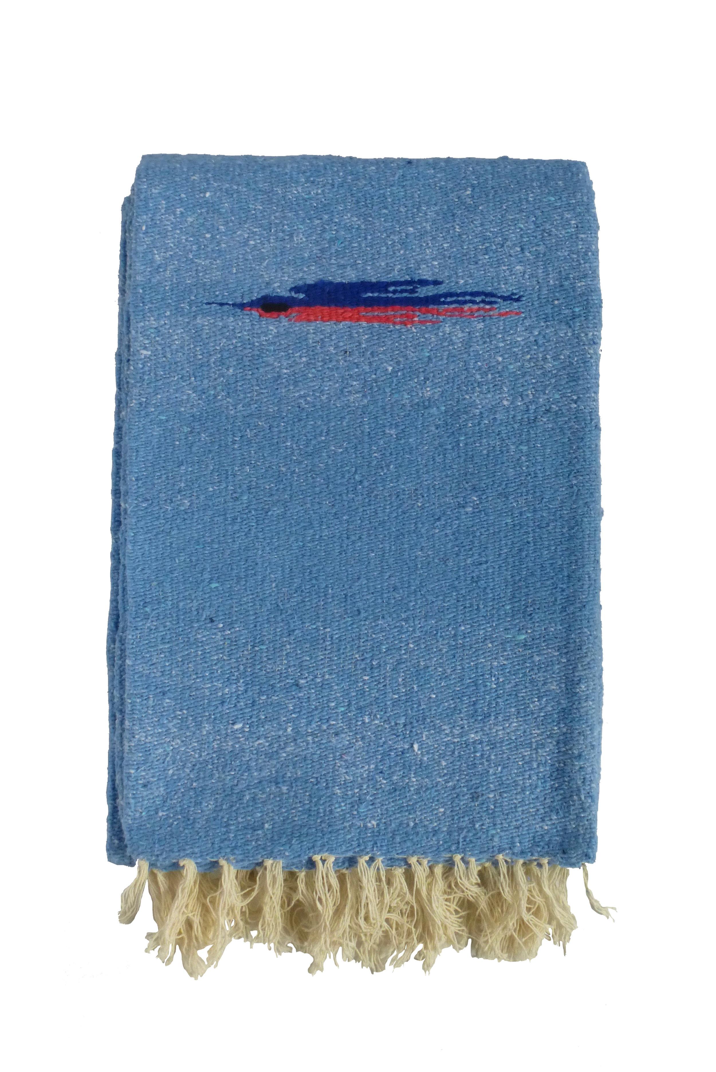 THUNDERBIRD BLANKET - LIGHT BLUE