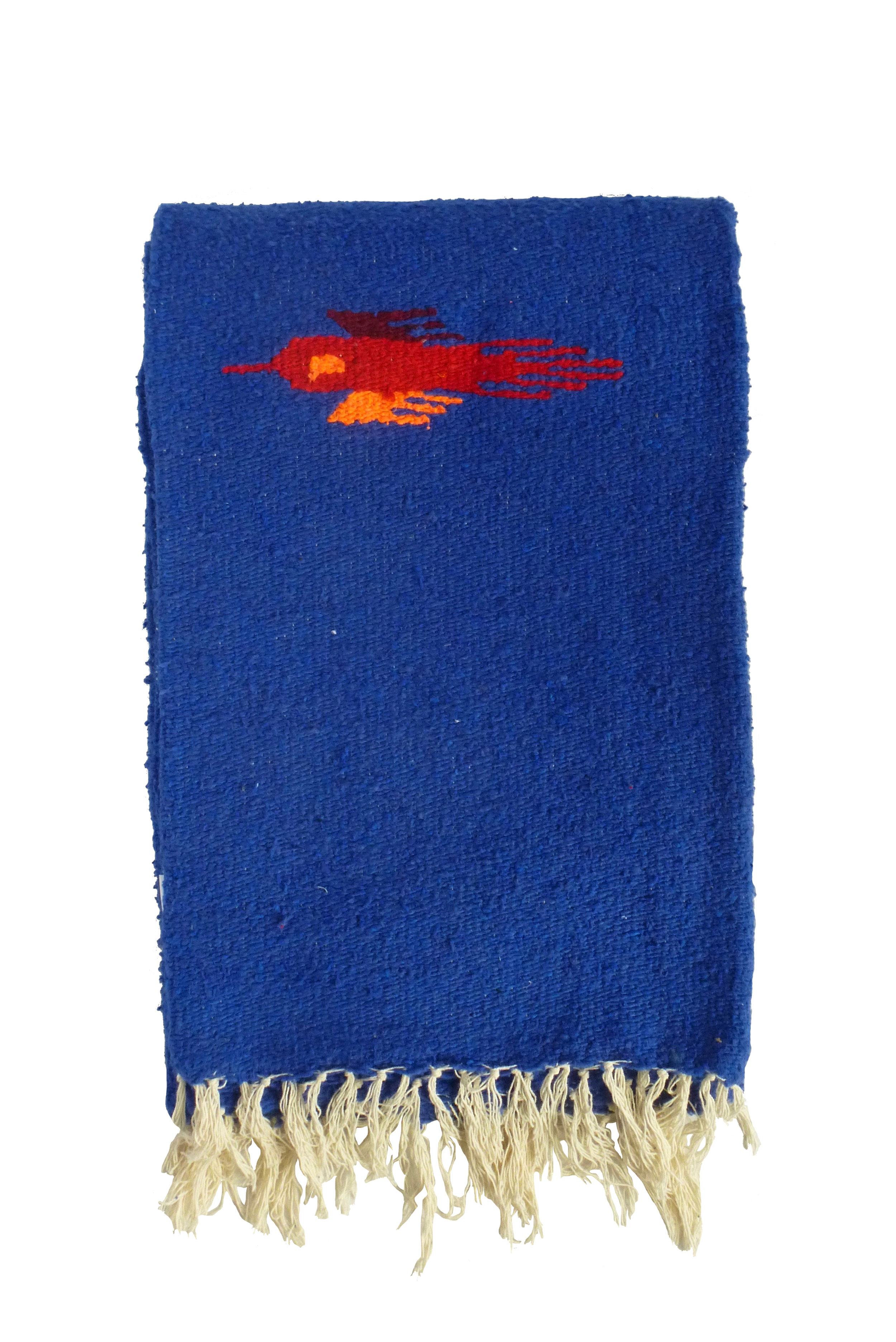 THUNDERBIRD BLANKET - ROYAL BLUE