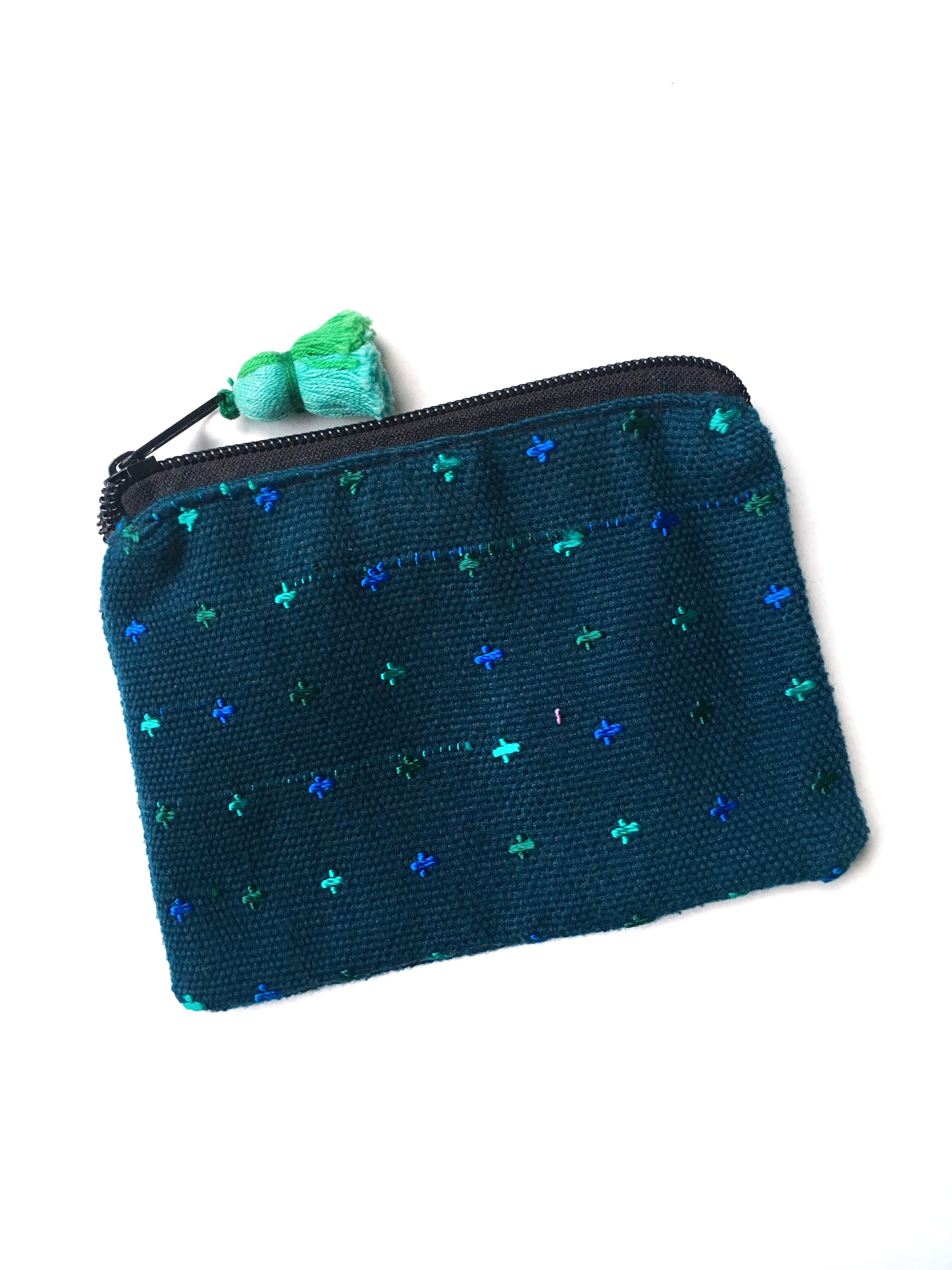 NOMAD COIN POUCH - TURQUOISE